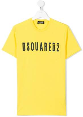 DSQUARED2 TEEN logo printed T-shirt