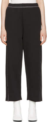 MM6 MAISON MARGIELA Black Basic Lounge Pants