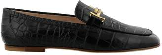 Tod's Double T Leather Loafer