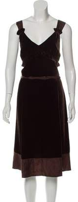 Marc by Marc Jacobs Velvet Knee-Length Dress w/ Tags