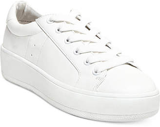 Steve Madden Women's Bertie Lace-Up Sneakers $69 thestylecure.com