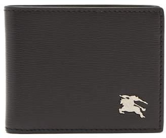 Burberry London Leather Bi Fold Wallet - Mens - Black