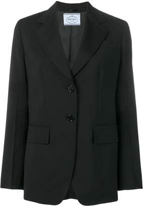 Prada classic tailored blazer