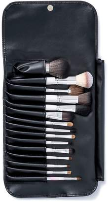 Vanity Planet Pink Palette Essential Makeup Brush 15-Piece Set