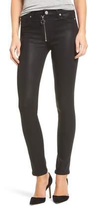 Hudson Barbara High Waist Skinny Faux Leather Pants