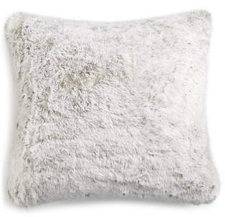 """Hotel Collection Faux-Fur 20"""" Square Decorative Pillow, Created for Macy's"""