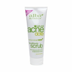 Alba Natural AcneDote Face & Body Scrub