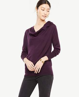 Ann Taylor Bow Neck Sweater
