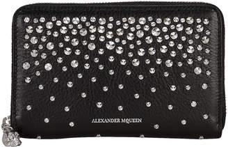 Alexander McQueen Studded Continental Clutch