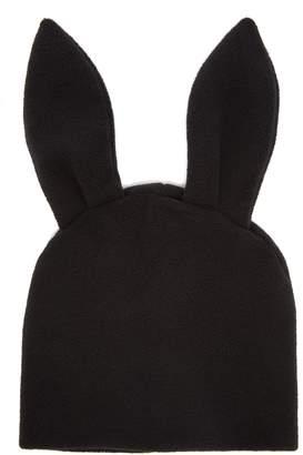 Comme des Garcons Bunny-ears fleece beanie
