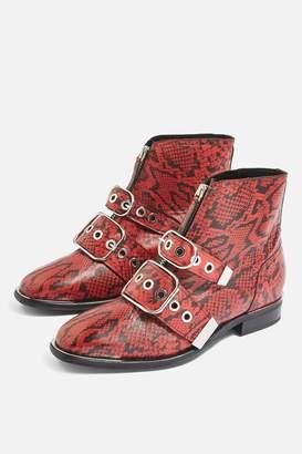 Topshop WIDE FIT ALEX Low Ankle Boots