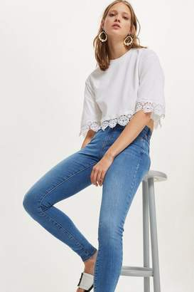 Topshop Mid Blue Sidney Jeans