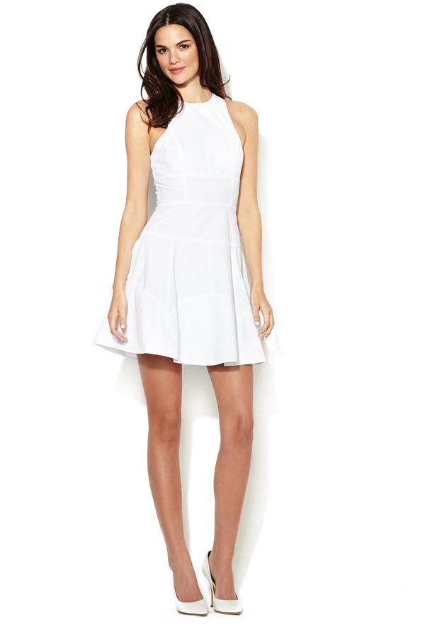 A.L.C. Nicolette Seamed Cotton Dress
