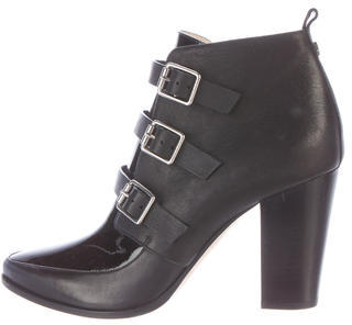 Jimmy Choo Jimmy Choo Buckle-Accented Ankle Boots