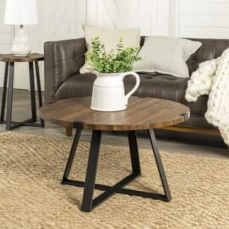 Williston Forge Bowden Metal Wrap Coffee Table