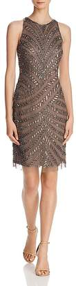 Adrianna Papell Embellished Cocktail Dress