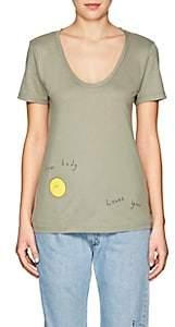 "Barneys New York Haas Brothers Xo Women's ""Sun Body Loves You"" Pima Cotton T-Shirt"