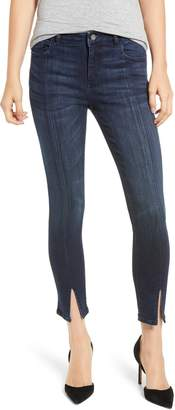 DL1961 Florence Instasculpt Split Hem Crop Skinny Jeans