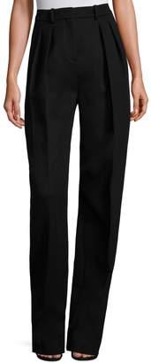 HUGO BOSS Runway Temina Virgin Wool & Cashmere Pants