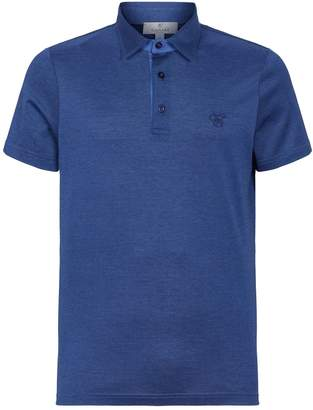 Canali Logo Embroidery Polo Shirt