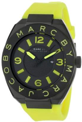 Marc by Marc Jacobs Women's MBM5516 Royale Lime Silicone Dial Watch