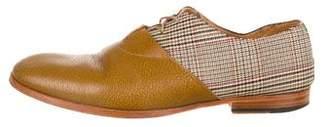 Maison Margiela Leather Oxfords