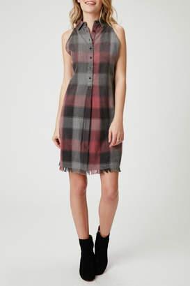 Olive + Oak Dane Plaid Dress