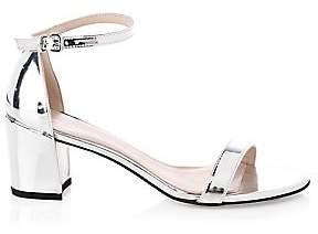 Stuart Weitzman Women's Simple Metallic Sandals