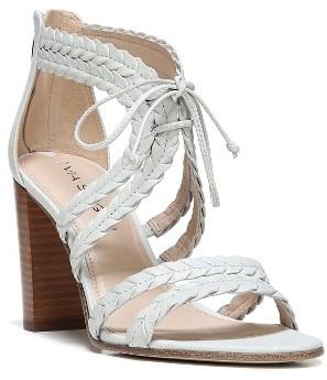Women's Via Spiga Gardenia Lace-Up Sandal $195 thestylecure.com