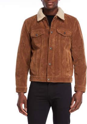 Levi's Faux Suede Trucker Jacket