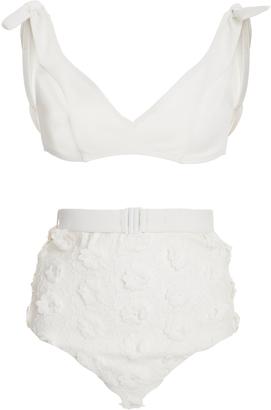 Lumino Daisy Tie Bikini Set