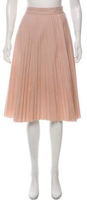 Joseph Pleated Knee-Length Skirt