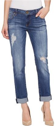 KUT from the Kloth - Catherine Boyfriend Five-Pocket in Fiery Women's Jeans $89 thestylecure.com