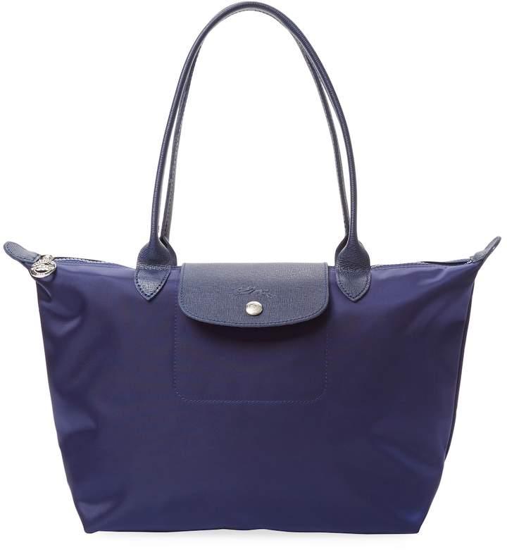 Longchamp Women's Le Pliage Neo Small Tote - DARK BLUE/NAVY - STYLE