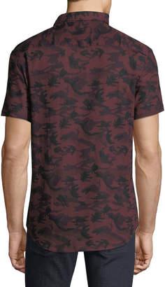 Sovereign Code Men's Stromburg Camo Short Sleeve Sport Shirt