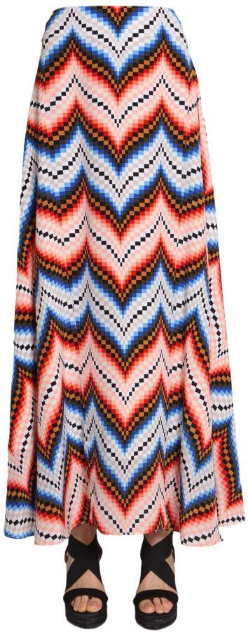KenzoLong Silk Skirt