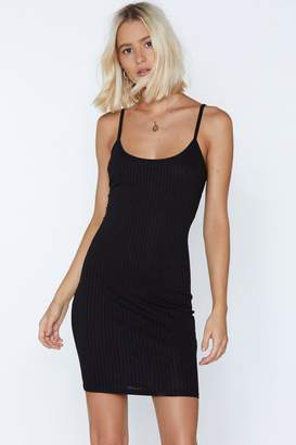 Nasty Gal Bodycon Artist Mini Dress