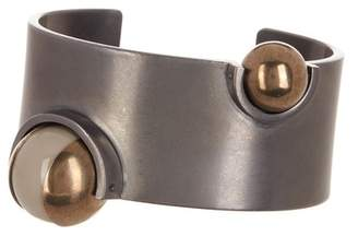 Tomas Maier Inset Bead Cuff Bracelet