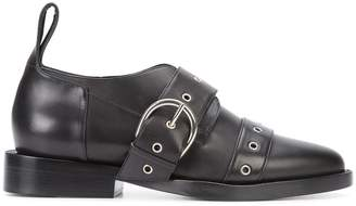 Paco Rabanne buckled brogues