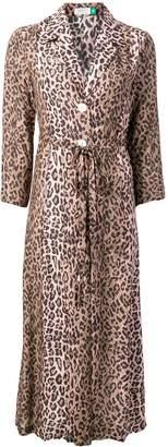 Rixo leopard print dress