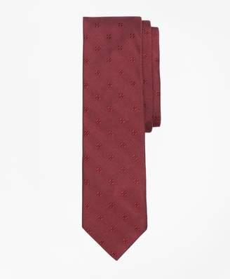 Brooks Brothers Floral Silk Jacquard Tie