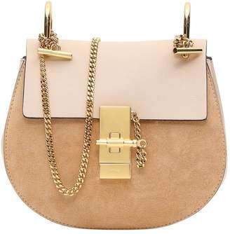 Chloé Leather And Suede Drew Mini Shoulder Bag