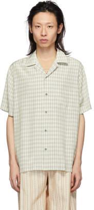 Cmmn Swdn Beige Check Duncan Shirt
