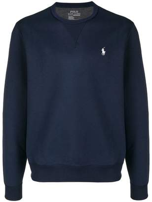 Polo Ralph Lauren logo embroidered sweatshirt