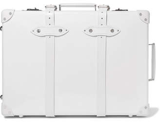 Globe-trotter Pearl 21 Leather-trimmed Fiberboard Travel Trolley - White