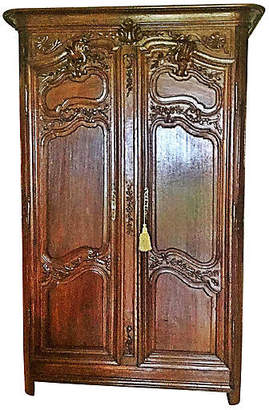 One Kings Lane Vintage 18th-C. French Carved Armoire - House of Charm Antiques