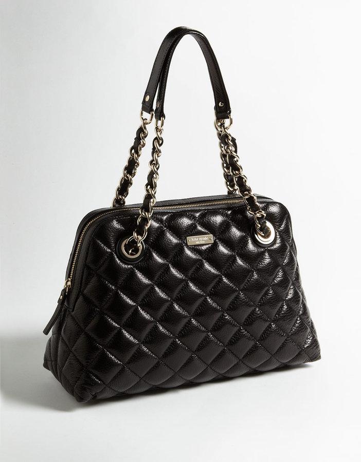 KATE SPADE NEW YORK Gold Coast Georgina Quilted Leather Shoulder Bag