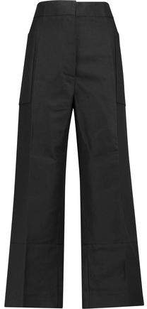 Buy Cotton And Linen-Blend Straight-Leg Pants!
