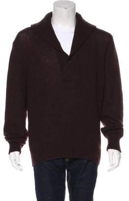 Tom Ford Cashgora Shawl Sweater