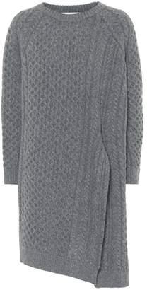Stella McCartney Asymmetric wool and alpaca sweater